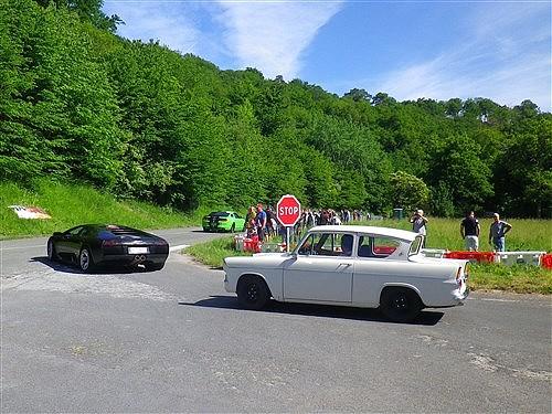 Rouen, soleil et moteurs