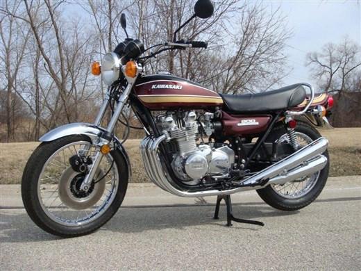Kawasaki, la Saga des Z.